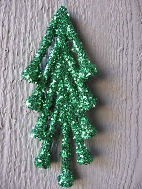 christmas craft, christmas ornament craft, christmas tree craft