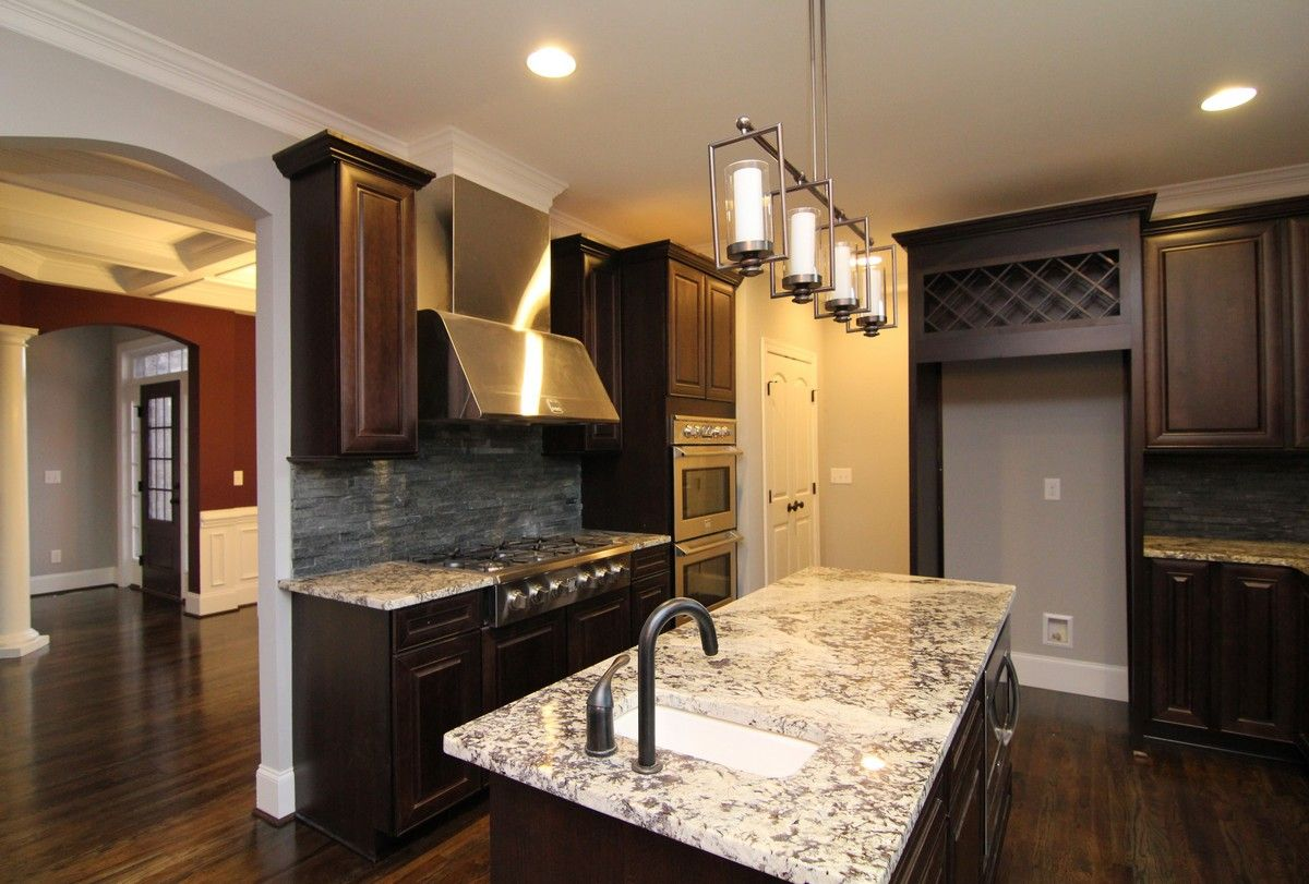 Island Kitchen Design With White And Black Features Including Mesmerizing Kitchen Design Granite Inspiration