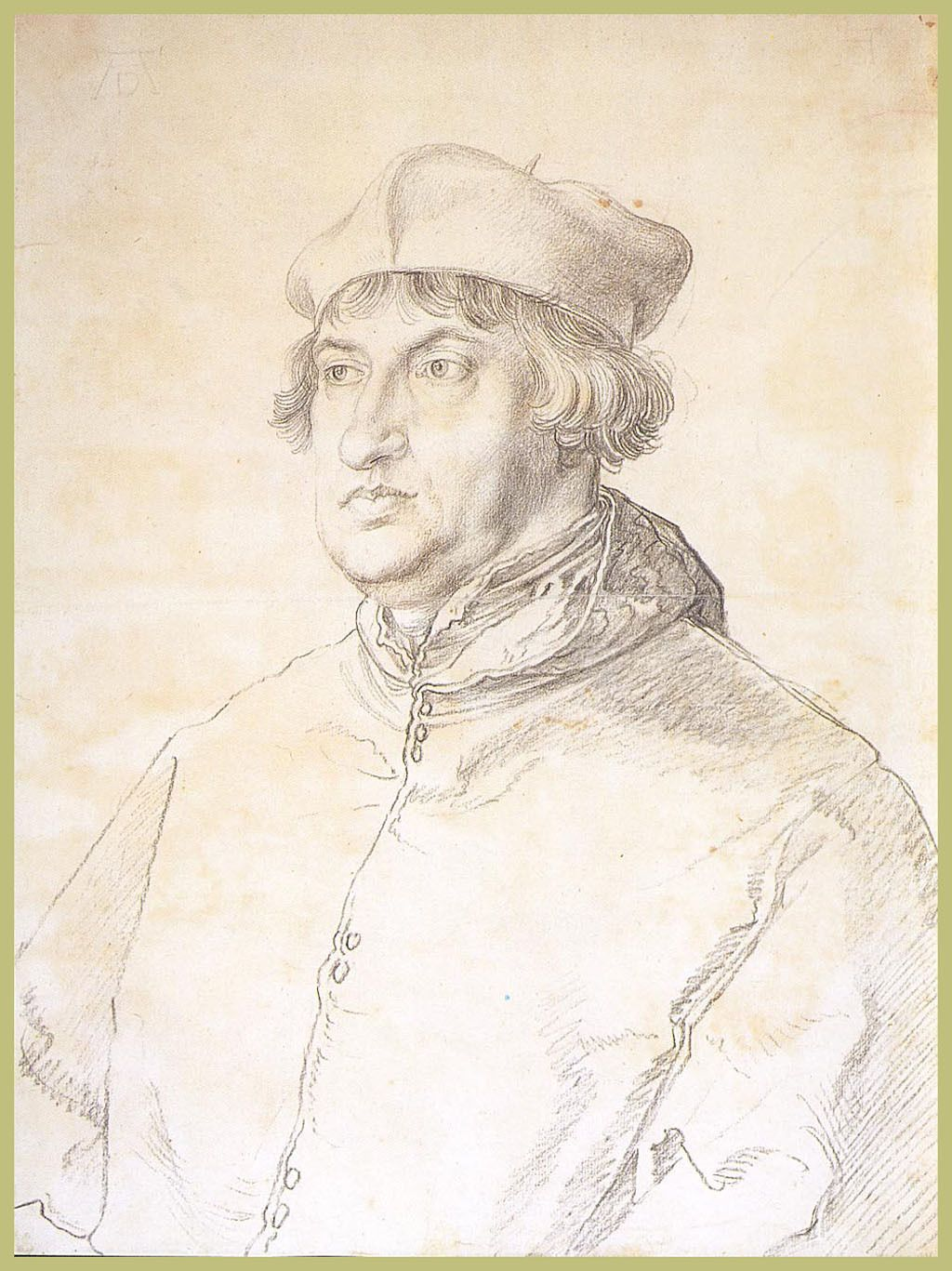 Cardinal Albrecht Von Brandenburg Albrecht Durer S