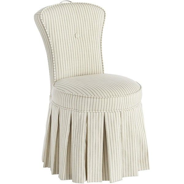 Pier 1 Imports Reese Chester Vanity Chair (770 ILS) ❤ liked on ...