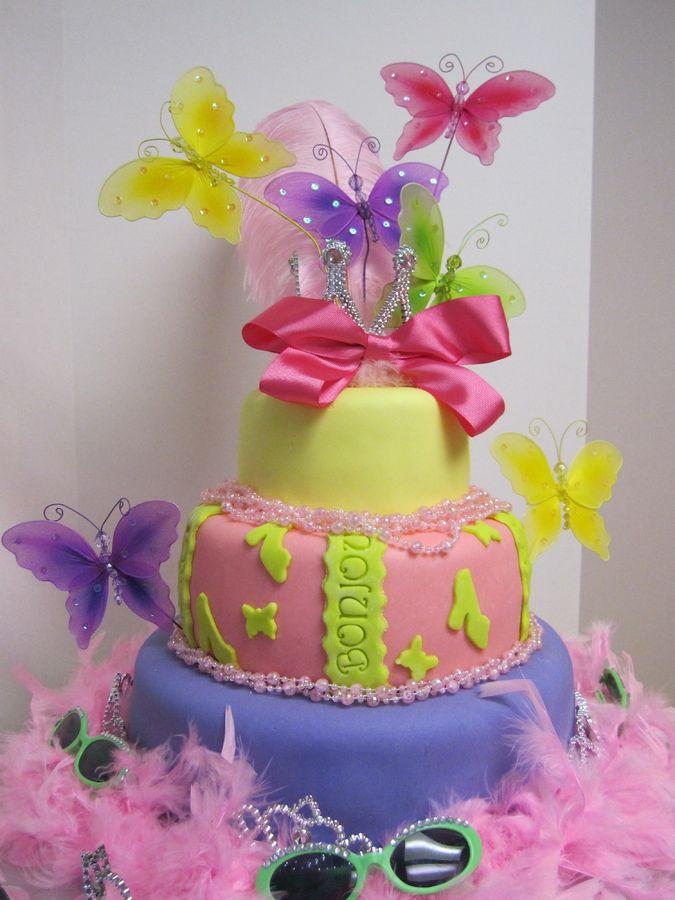 Cake Ideas For 8 Year Old Girl Fancy Nancy Cake
