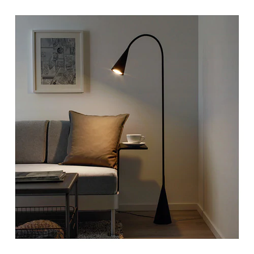 Delaktig Led Floor Lamp Black Ikea Black Floor Lamp Led Floor Lamp Ikea Floor Lamp