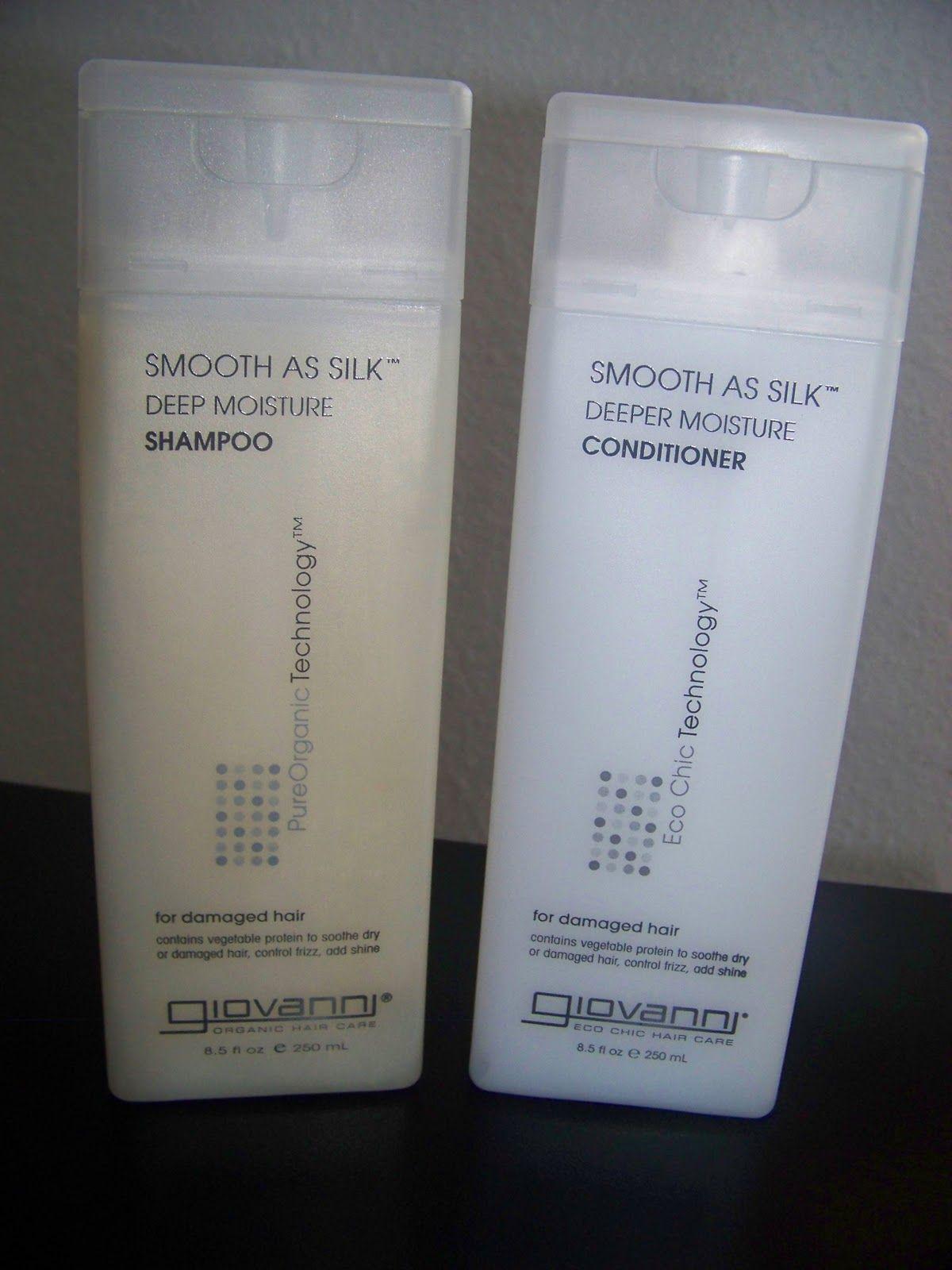 Giovanni smooth as silk deep moisture shampoo pearlized