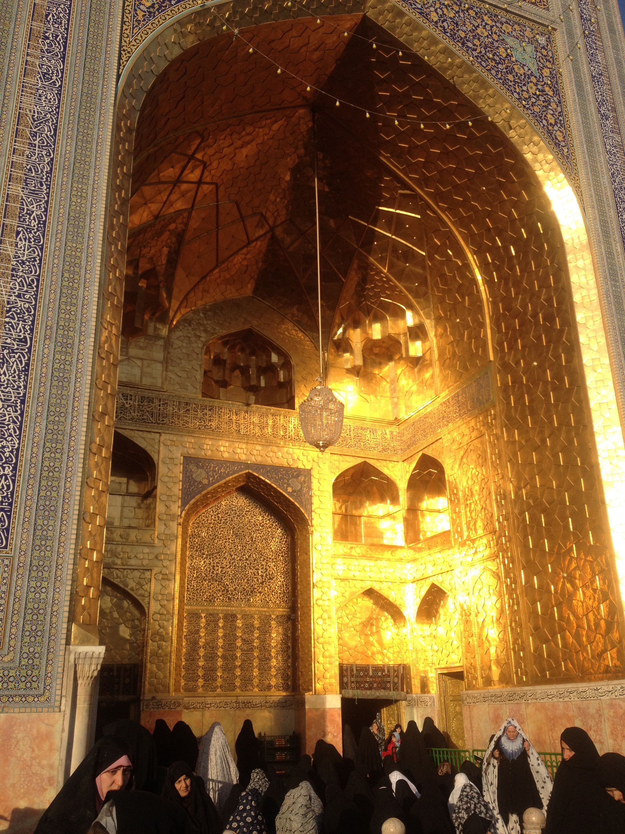 Maula Ali Shrine Wallpaper: The Entrance To The Shrine Of Imam Ali Raza (a.s.w.s.) In