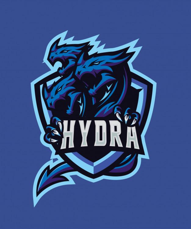 Logotipo De Hydra Blue Esports (con imágenes) Plantillas