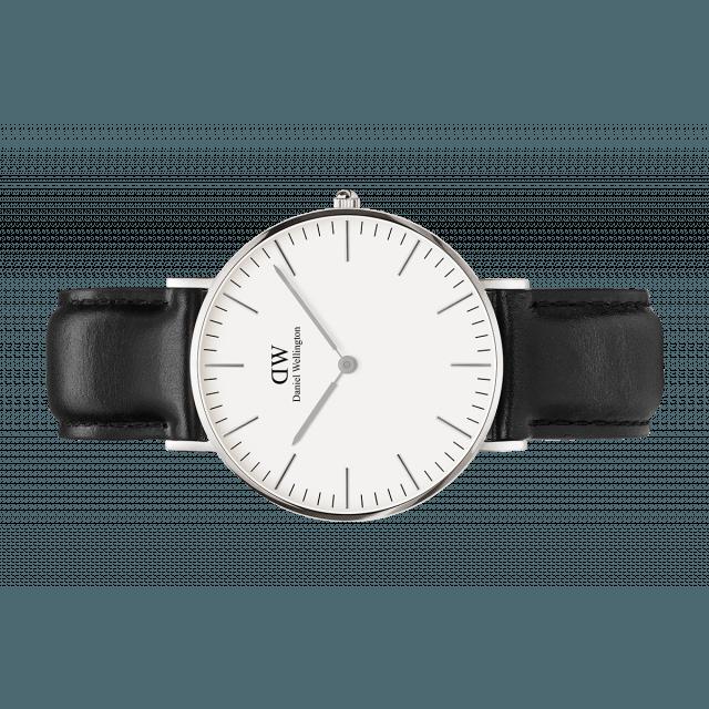 ea6f7c406df5 Watch - Classic Sheffield 36 mm Silver - Daniel Wellington