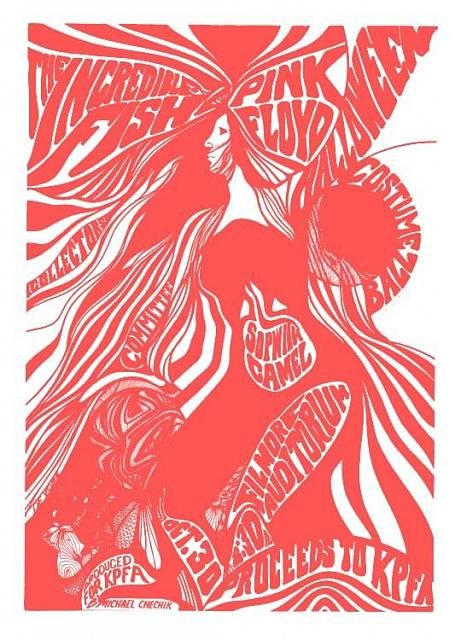 72151951 Pink Floyd (Oct 30, 1967) Fillmore Auditorium San Francisco CA - not  performed