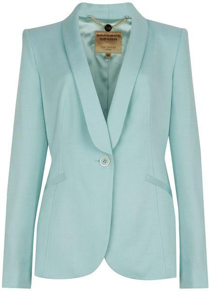 3a77a6b43 TED BAKER LONDON Jayne Tuxedo Suit Jacket - Lyst