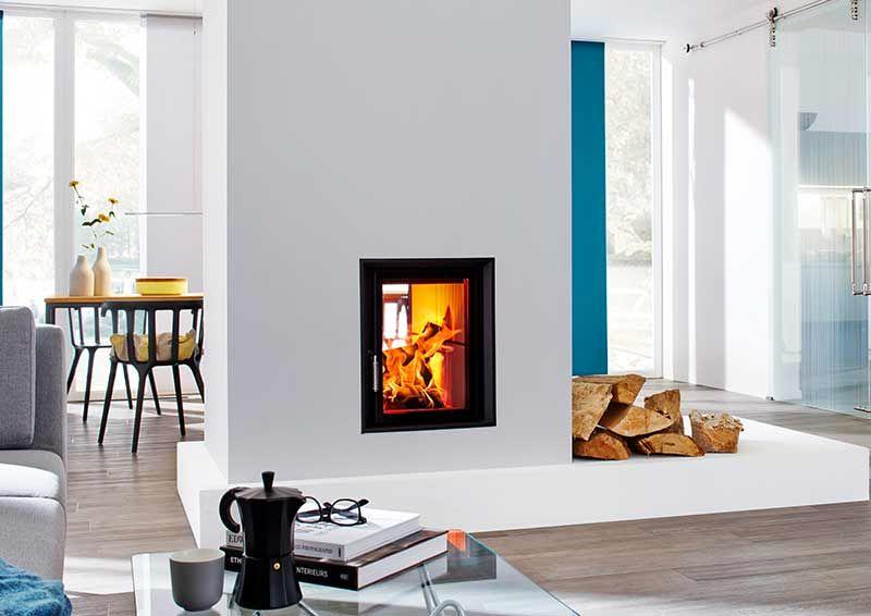 Moderne Kachelöfen - der HKD 22 kachelofen Pinterest - moderne wohnzimmer mit kachelofen