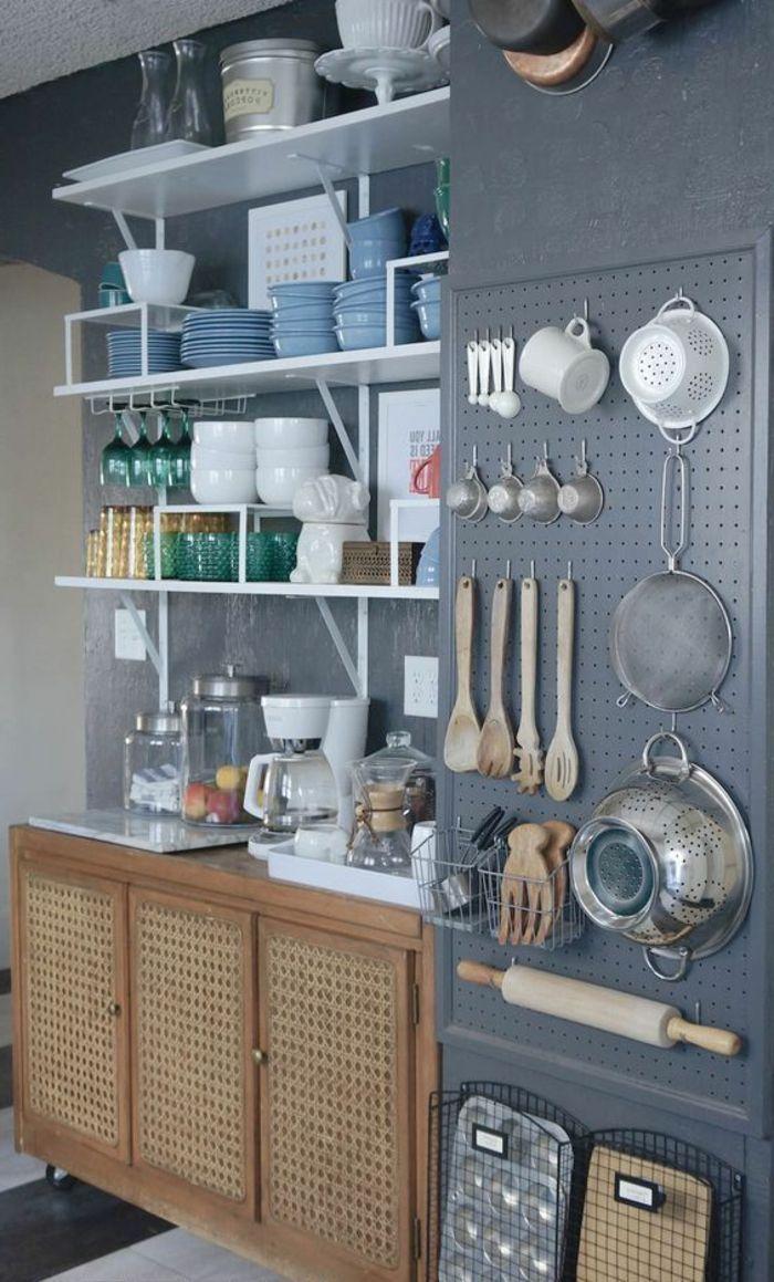 ▷ 1001 + Ideen für Wandgestaltung Küche zum Entlehnen ...