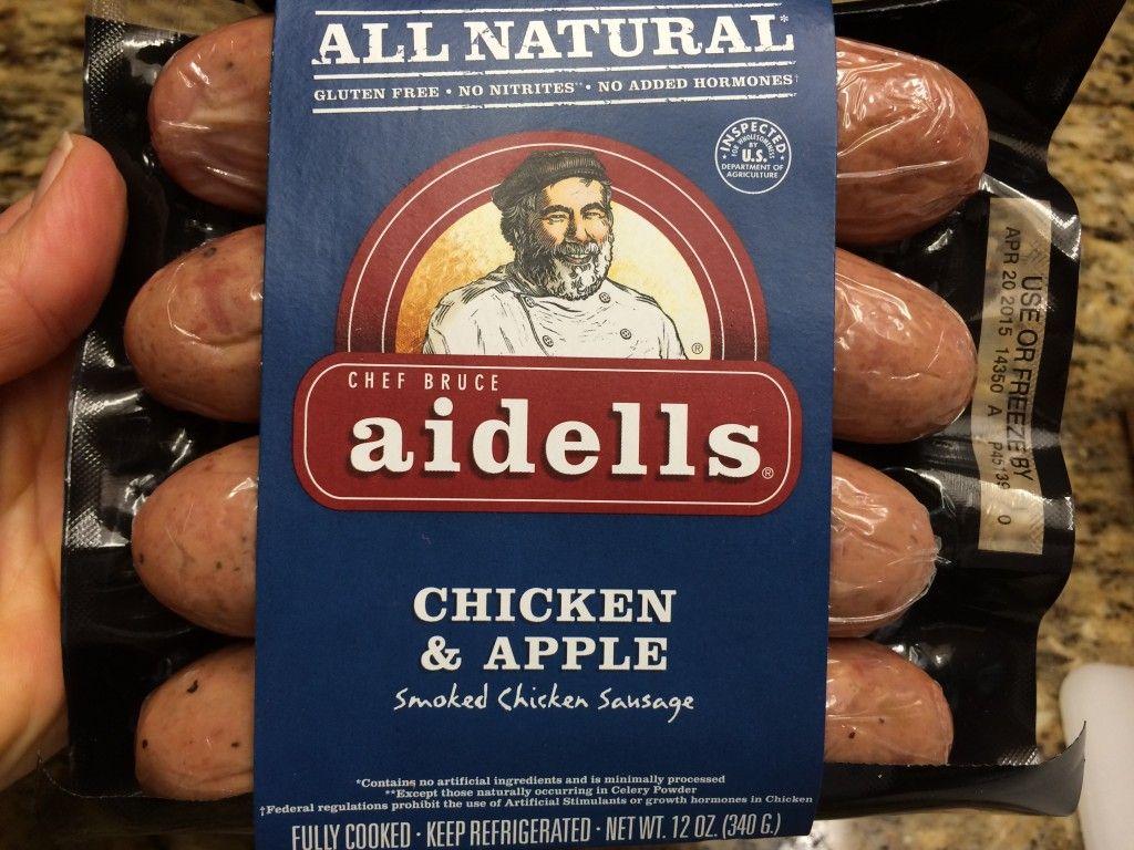 chicken apple sausage medley