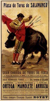 61 Ideas De Carteles Históricos De Toros Carteles Históricos Toros Arte Taurino