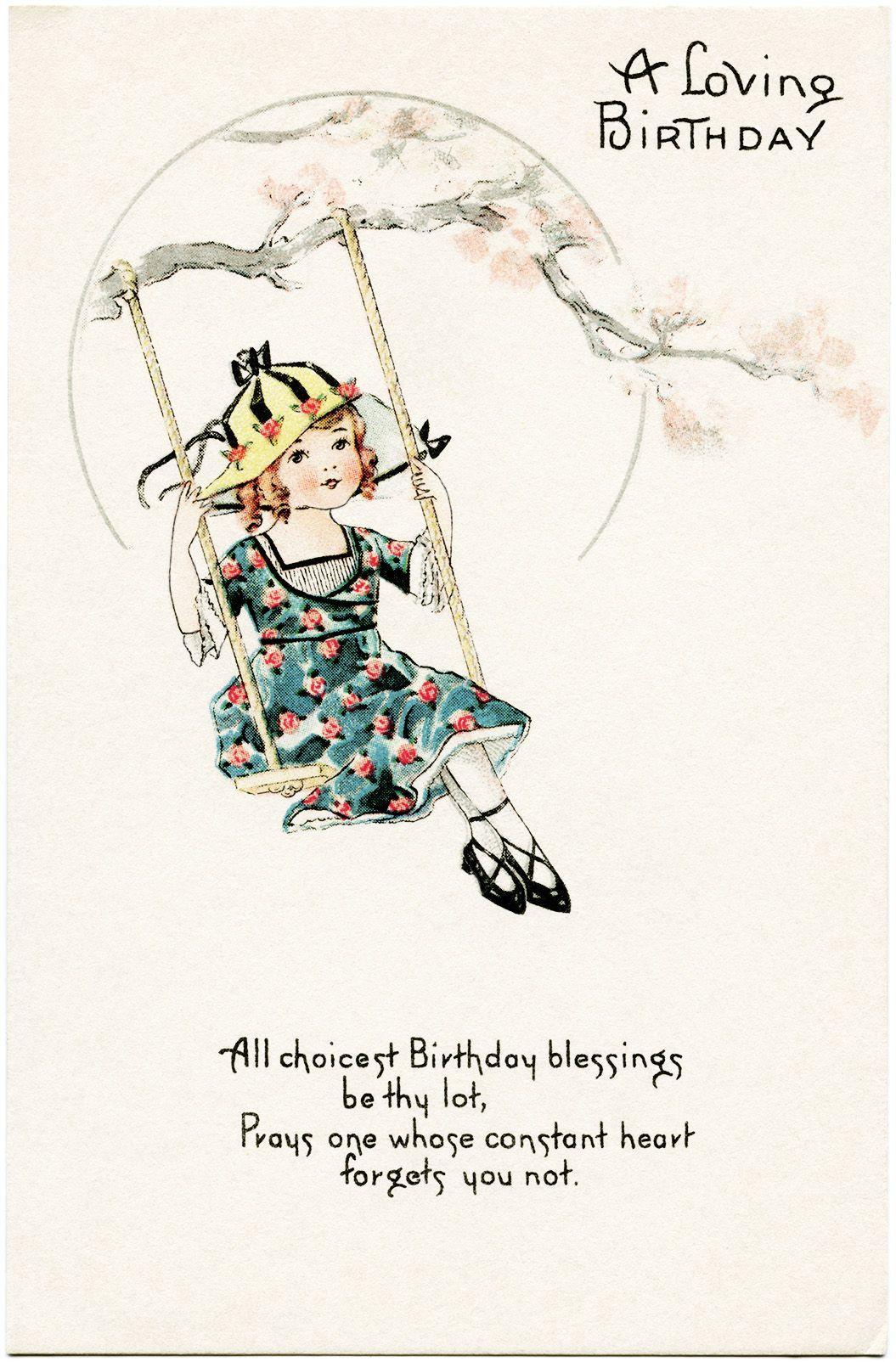 free victorian birthday clip art - photo #33