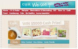 Win$5,000 Cash Prize!