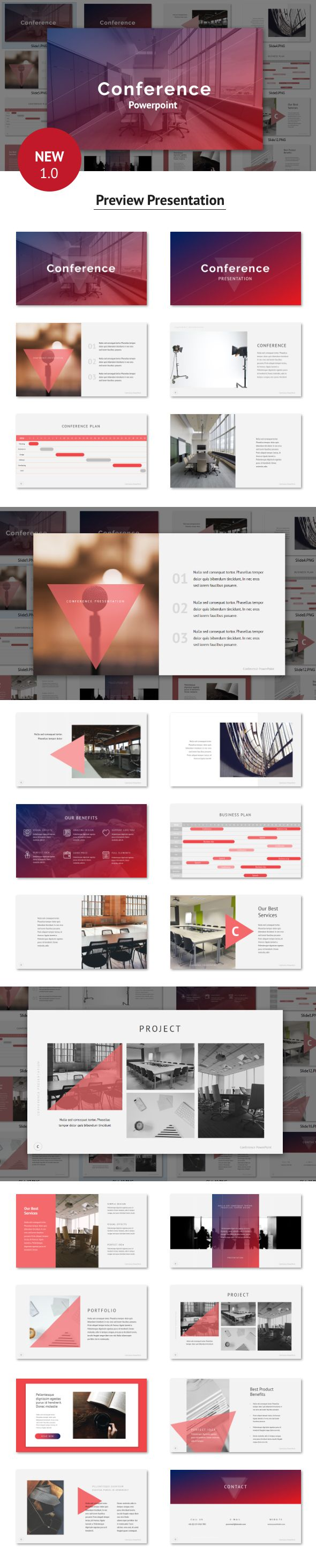 conference powerpoint template powerpoint templates presentation