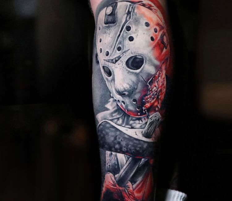 Michael Myers Tattoo By Michael Cloutier Michael Myers