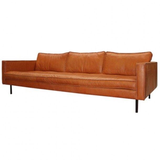 Leren Bank Beige.Cognac Leren Bank Loods 5 Home Living Room Furniture Formal