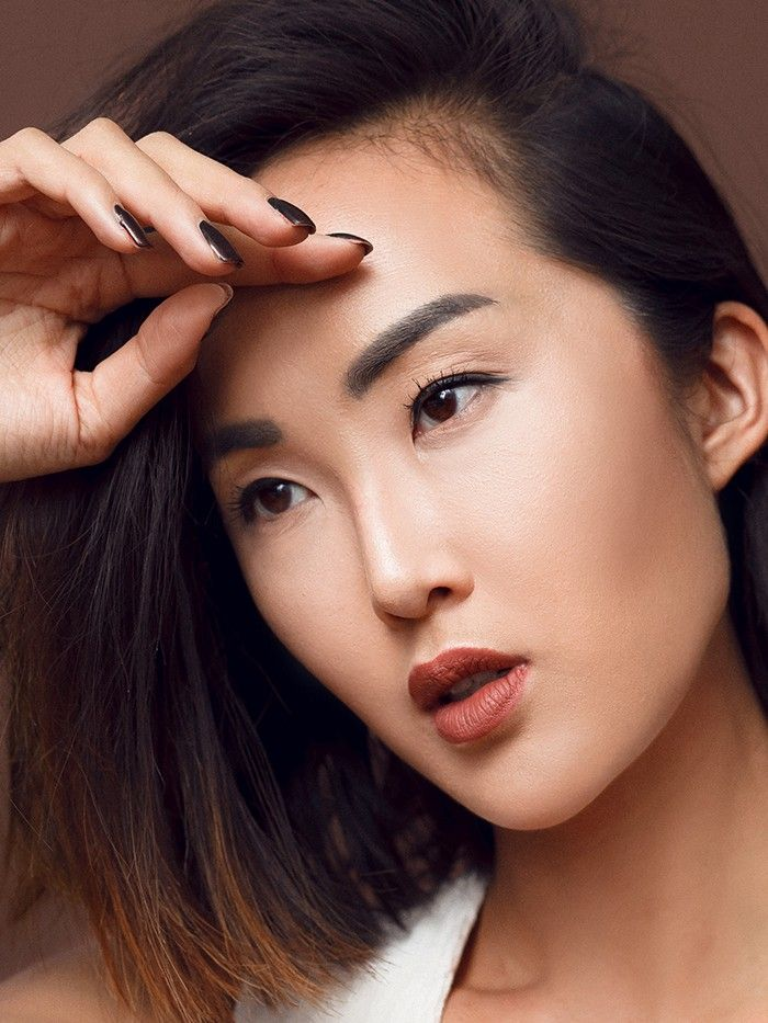 One Girl, 3 Eyebrow Shapes by Chriselle Lim   Eyebrow ...
