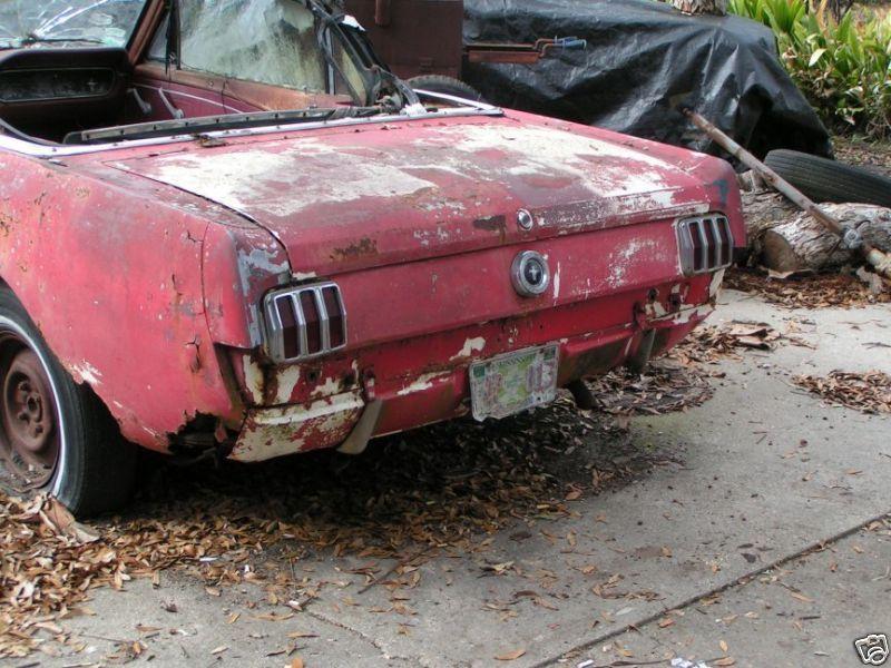 1965 Mustang convertible   Rusted Rides   Pinterest   1965 mustang ...