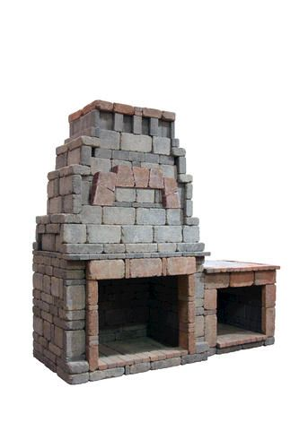 Webster Fireplace with 1 Woodbox | Fireplace, Menards ...