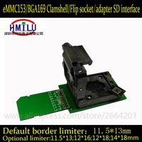 eMMC socket eMMC153 eMMC169 chip Reader Clamshell Structure