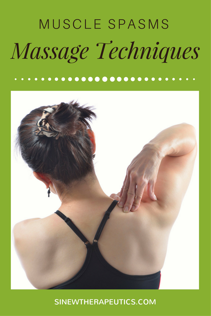 These massage techniques are of great value in muscle spasms pain relief; circulation stimulation; dispersing blood and fluid accumulations; swelling reduction; and relaxing muscle spasms, especially when used alongside the Sinew Therapeutics liniments and soaks.