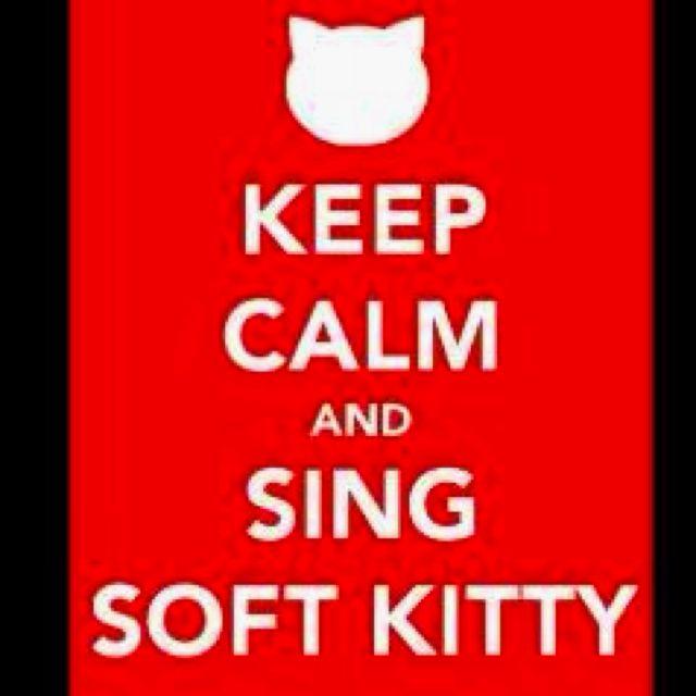 Soft kitty, warm kitty, little ball of furrr! <3