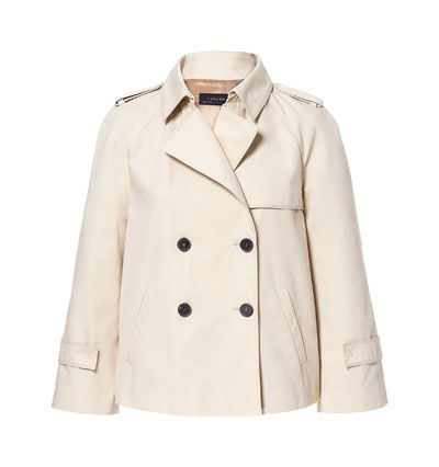 SHORT TRENCH COAT - Coats - Woman - ZARA United States | Dress Me ...