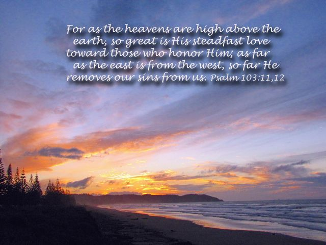 Image result for psalm 103:11-12