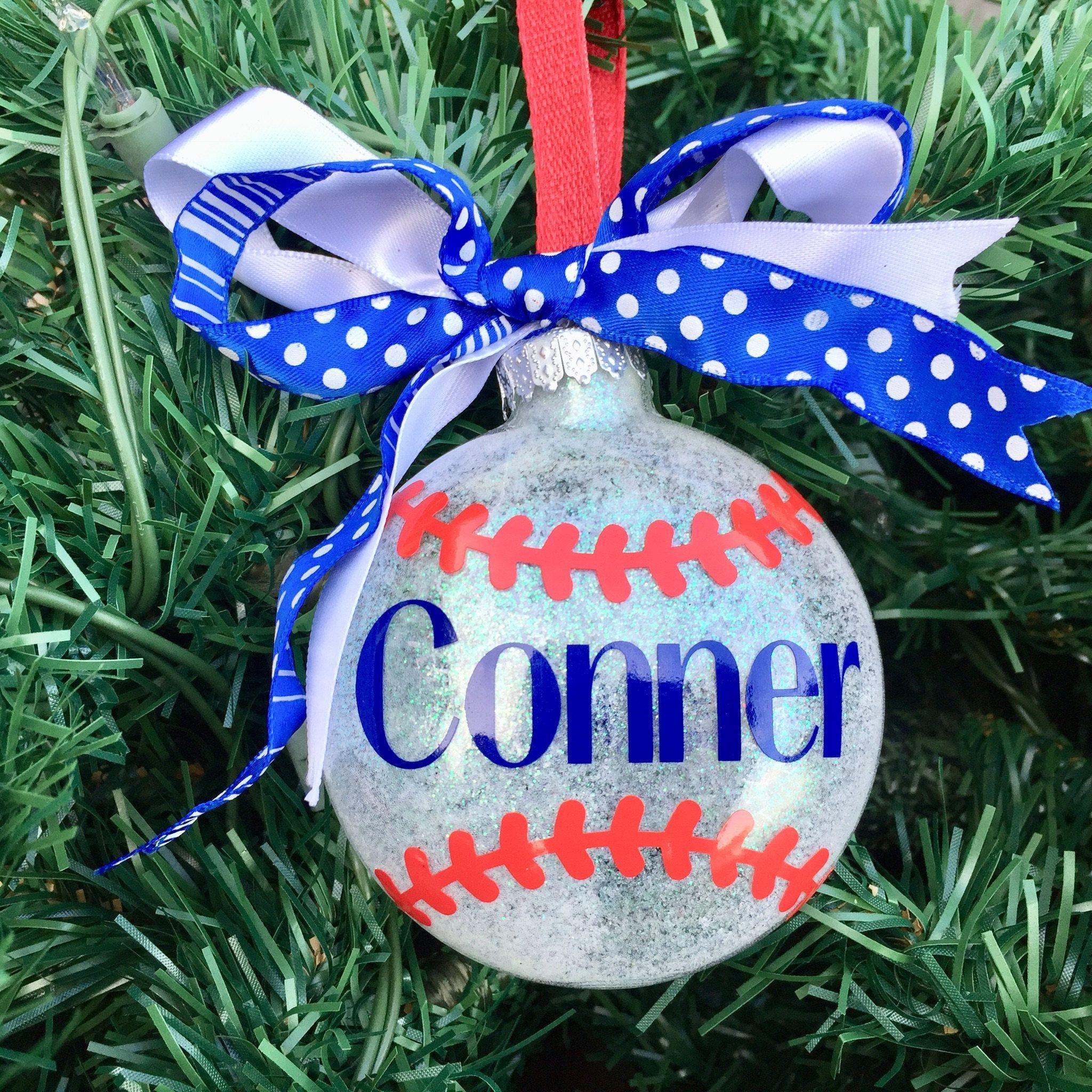 Baseball Ornamentbaseball Player Ornamentsports Ornamentkids Ornament