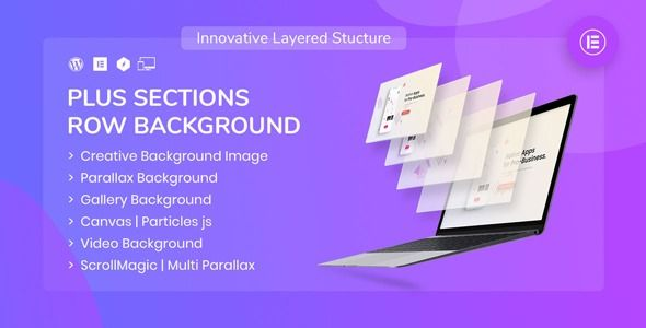 PlusSections - Ultimate Parallax | Video | Particles Row