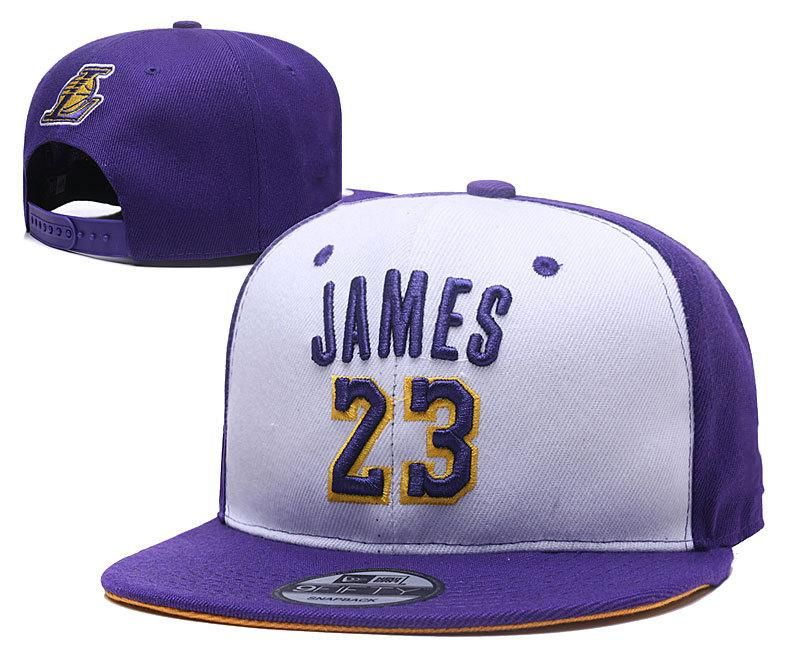 2018 New Basketball Team Snapback Hats LA Lebron James 23 Snap Back Hats  Womens Mens Flat 3cd455a5ea8