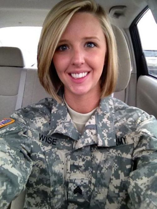 User Submit A Cute Army Gal 5 Photos Womens Hairstyles And