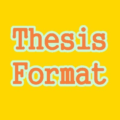 Sample Thesis Format u2013 Thesis Notes Thesis Writing and Thesis - sample notes