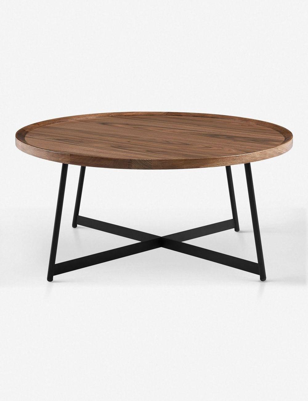 Gweneth Round Coffee Table Walnut In 2021 Coffee Table Plywood Coffee Table Round Walnut Coffee Table [ jpg ]