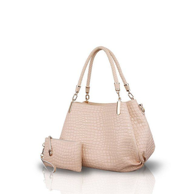 Photo of NICOLE&DORIS Borse a spalla da donna 2 pezzi Borsa a mano alla moda borse da donna in pelle