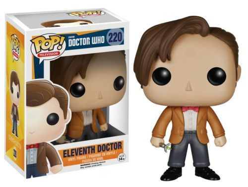 Funko Pop Television Doctor Who Eleventh Doctor Vinyl Action Figure 2 Big Game Vendor Pop Vinyl Figures Eleventh Doctor Vinyl Figures