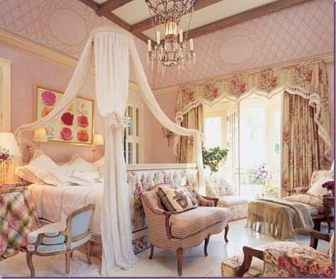 Romantic bedroom curtains \u2013 Romantic touch bedroom decorating