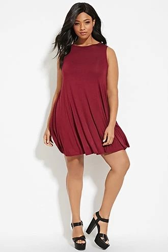 Plus Size Trapeze Dress Forever 21 Plus Forever21plus Forever21