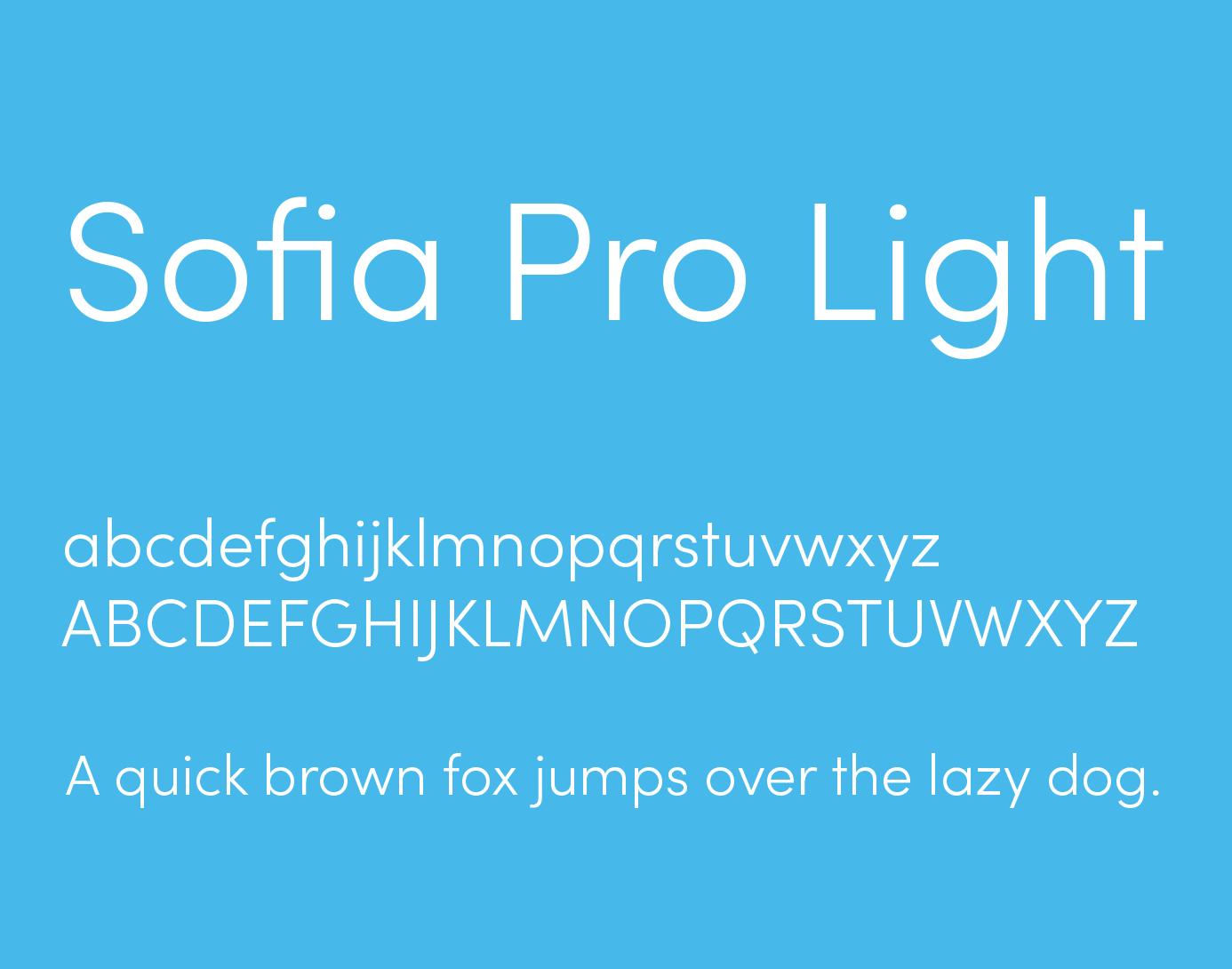 Sofia Pro Font Free Download | Download free font | Free