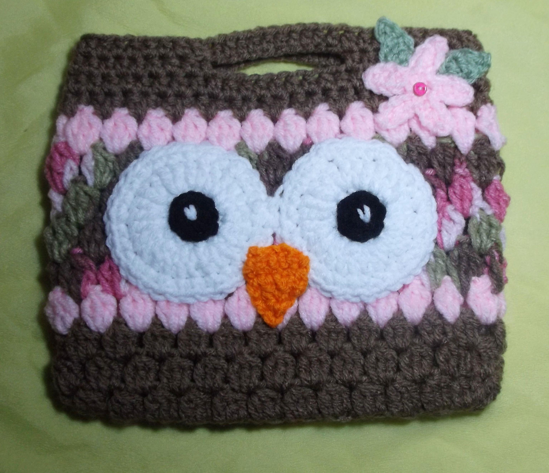 Little girls crochet owl purse pinks no pattern crochet little girls crochet owl purse pinks no pattern bankloansurffo Image collections
