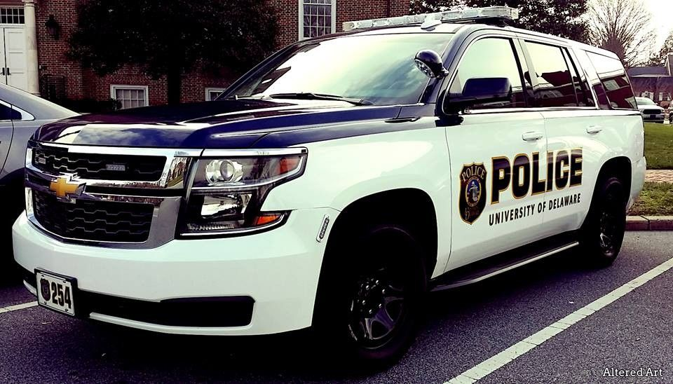Chevy Tahoe From The University Of Delaware Law Enforcement University Of Delaware Police Department