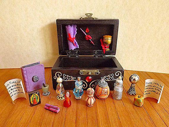 Lo Scrigno Magico-décoratifs autel de mini par PiccoliSpazi sur Etsy