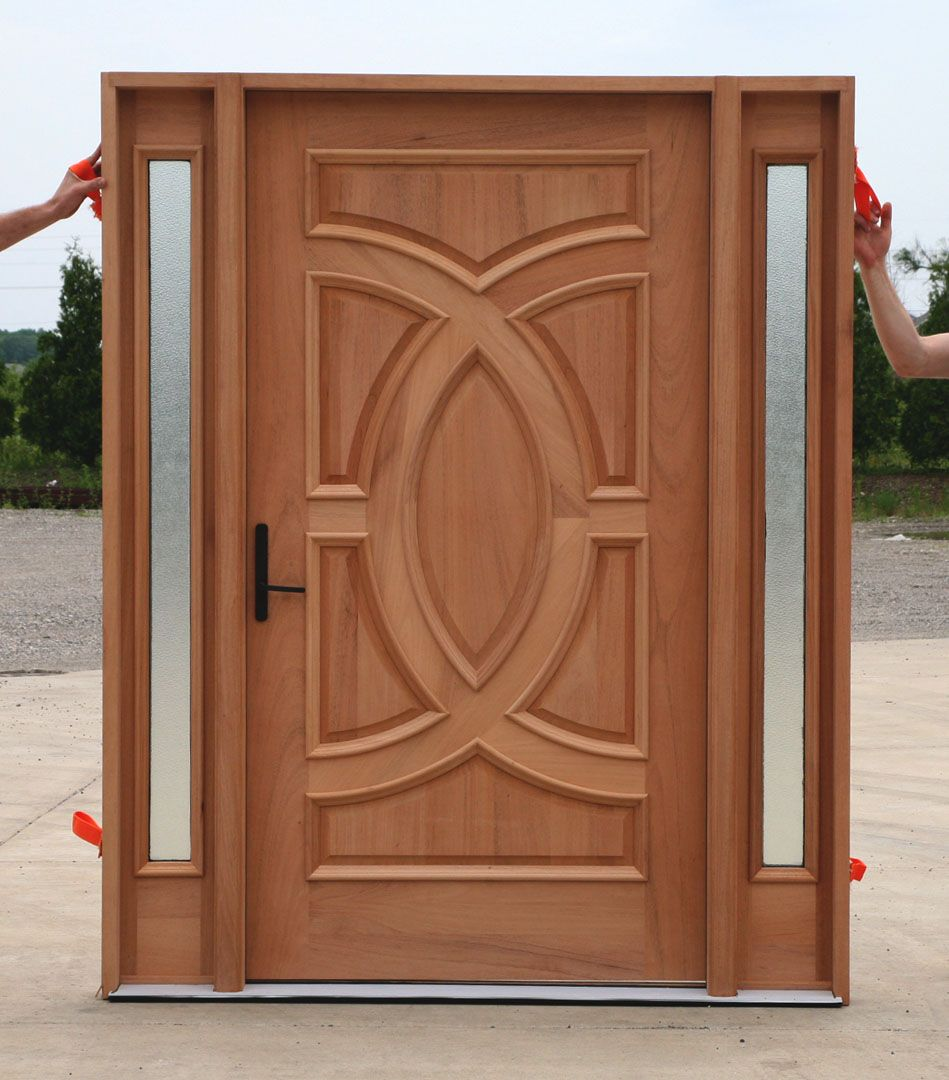 Wood Doors One Of A Kind Glass Designs And Accents Make Custom Is A Solid  Wood