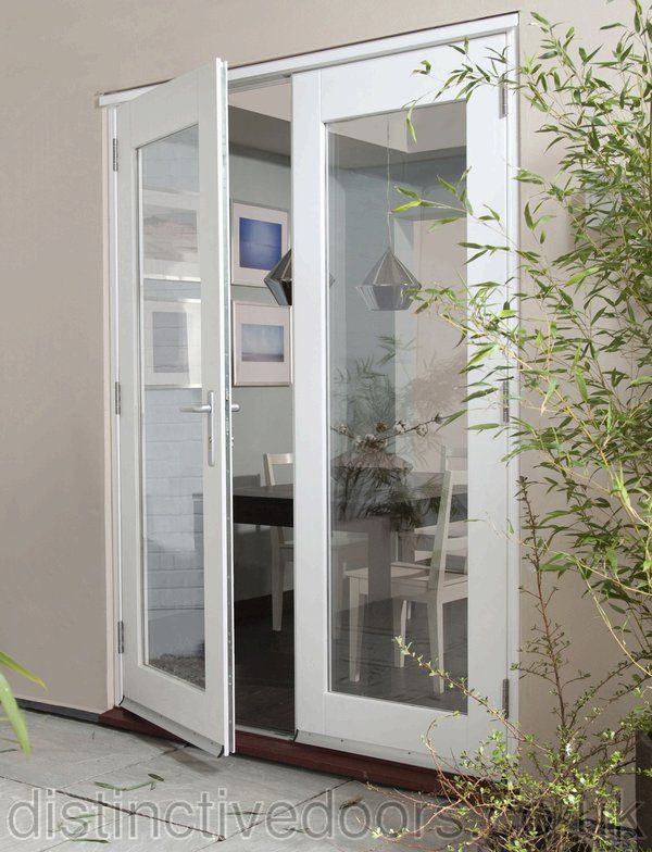 Jeld Wen Wellington Pine White Pre Finished Exterior Patio Doors Patio Doors French Doors Exterior Patio Doors