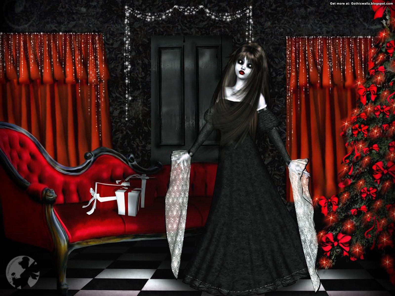Gothic Christmas Decorations | Gothic Christmas 1 | Gothic ...