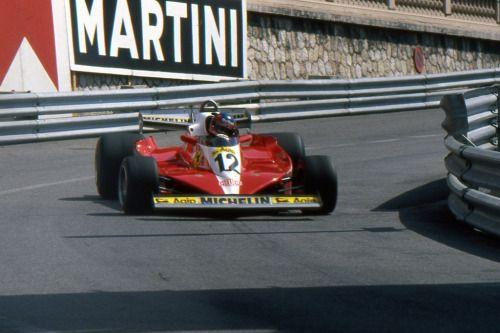 1978 GP Monaco - Gilles Villeneuve - Ferrari T3