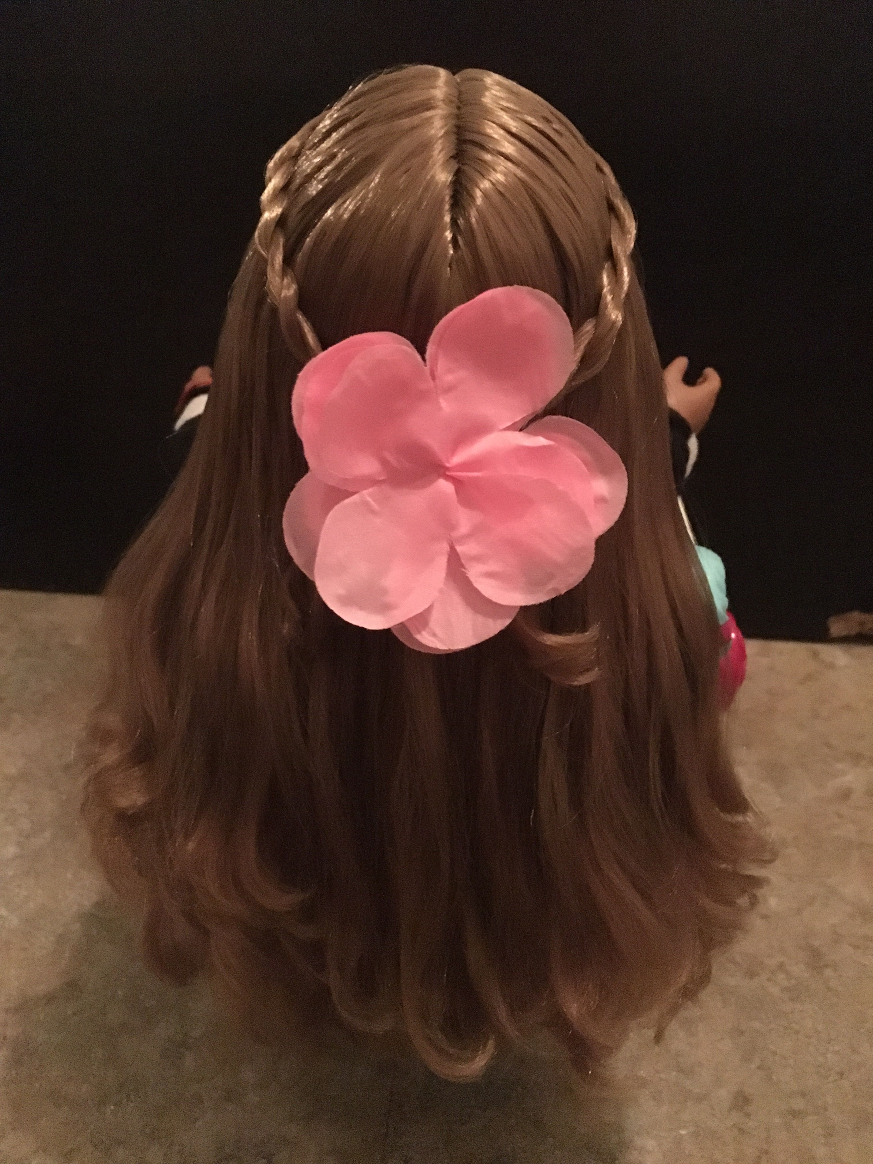 A Casual Hair Style For Your Doll American Girl My Life