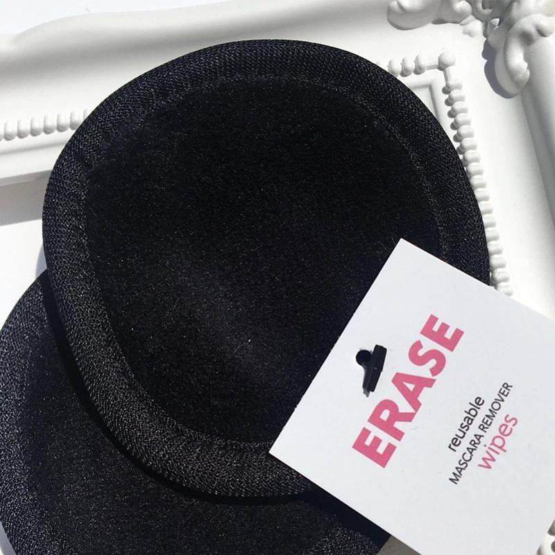 ERASE: wiederverwendbare Mascara-Entferner-Tücher