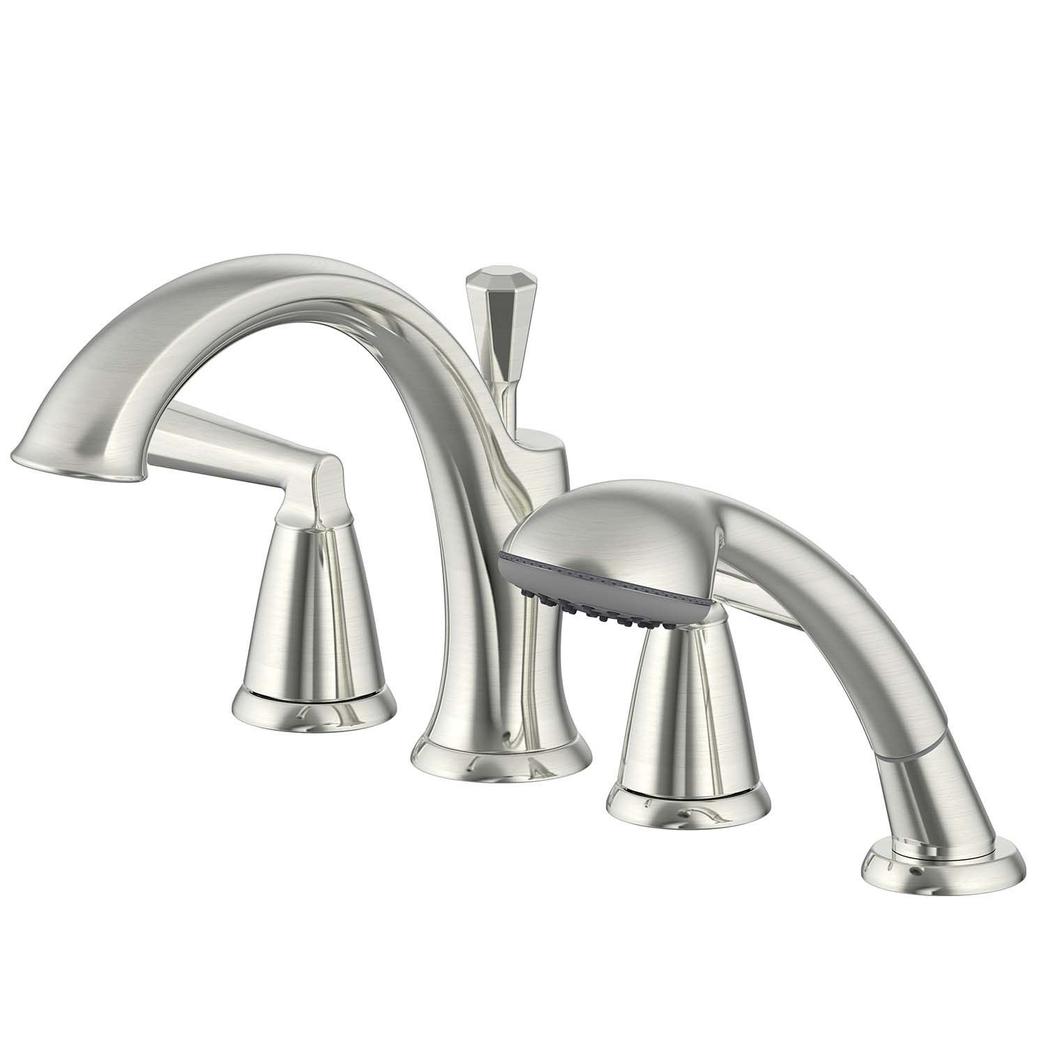 Ultra Faucets Uf65443 Z Collection Two Handle Roman Tub Faucet